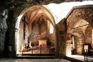 Pulfero La grotta area delle cappelle