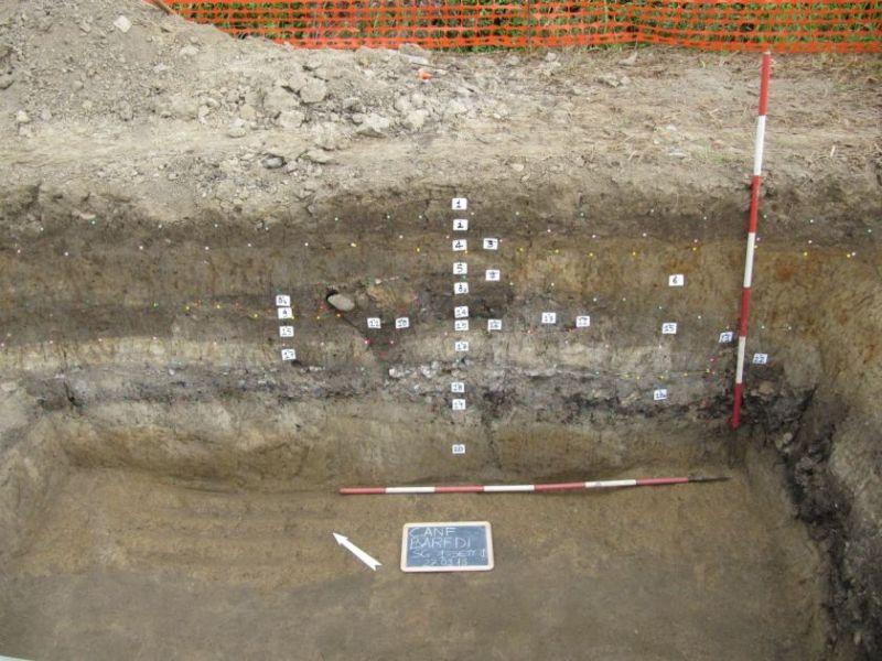 5 la complessa stratigrafia del sito di Cá Baredi