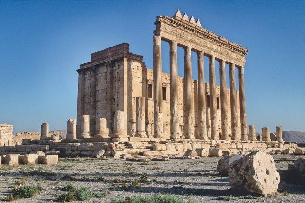 palmira tempio di baal