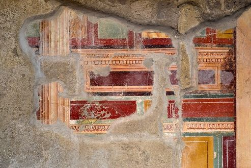 COD 147 VILLA ARIANNA  - cubicolo con affreschi di II stile