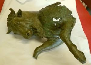 COD_133_Il Toro cozzante del Museo Archeologico Nazionale della Sibaritide al Museo Egizio di Torino