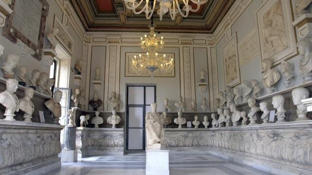 Roma Riaperta Al Pubblico Restaurata La Sala Degli