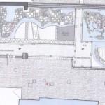 Pianta dell'area di piazza Capitolo