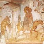 affreschi foris portas