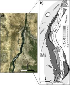 Press Immagine satellitare del sito archeologico