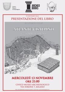 Atlante Cisalpino presentazione volume