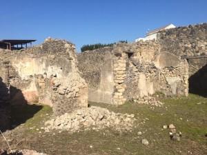 Foto muro CIVICO 22 INSULA IV REGIO I Pompei