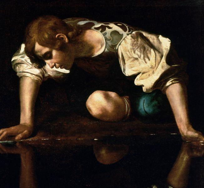Narcissus-Caravaggio_1594-96_edited-e1422898264621